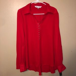 Red blouse XL